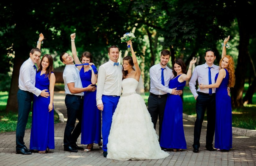 Дресс код на свадьбу для гостей в приглашении