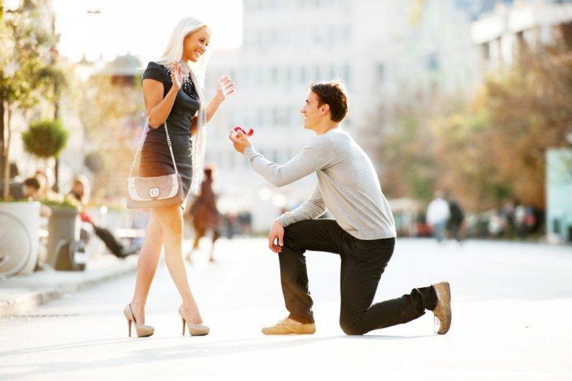 Предложение девушки выйти замуж в домашних условиях