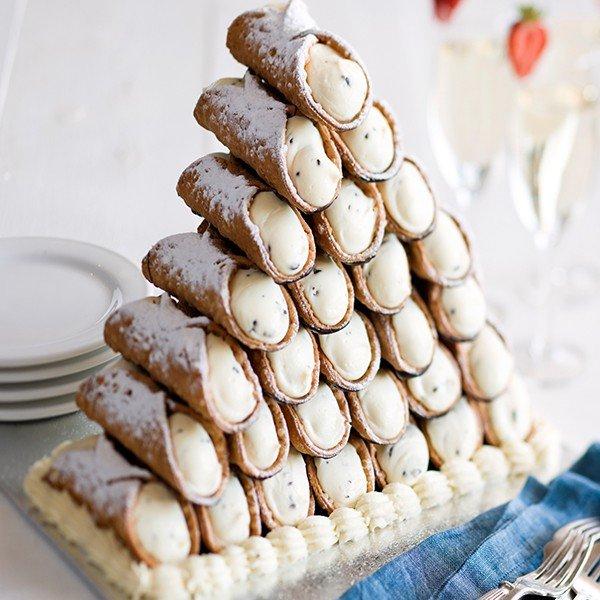 Пирожное канолли рецепт