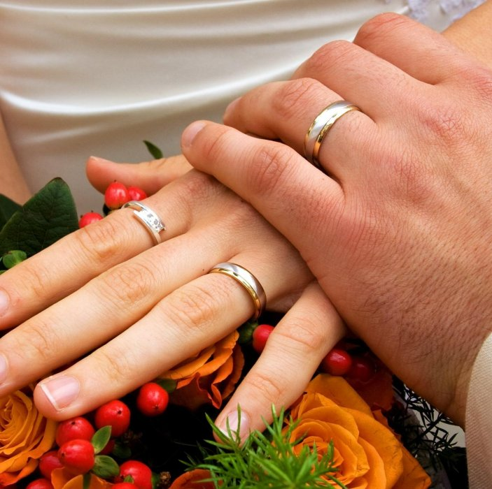 Marriage registration after wedding