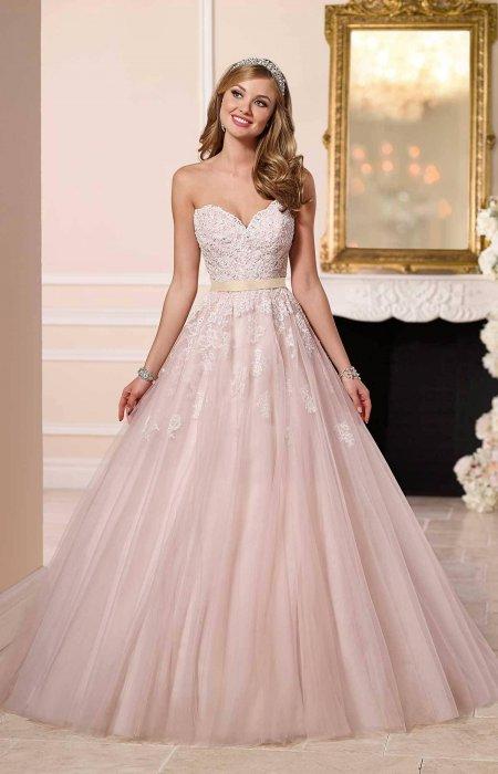 Не белые свадебные платья фото
