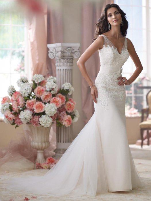 Свадебное платье для фигуры Песочные часы