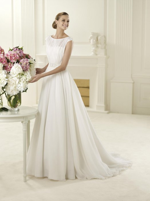 Свадебное платье для фигуры Груша