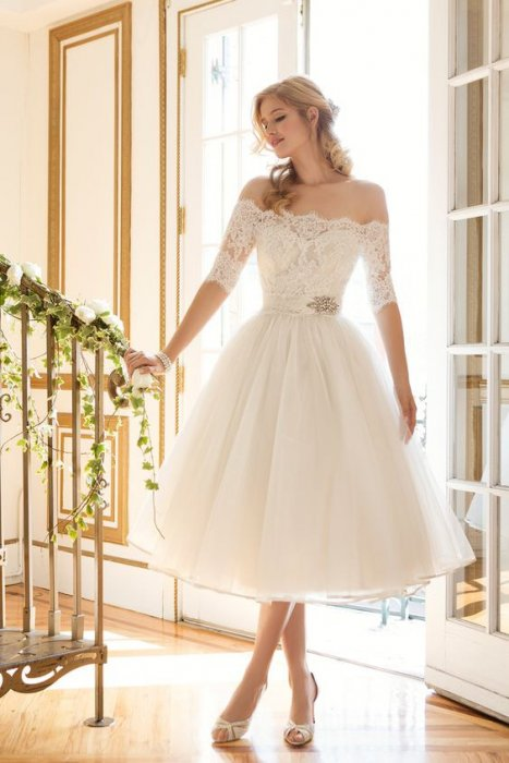 9e20be52c30 Короткое свадебное платье  делаем правильный выбор!
