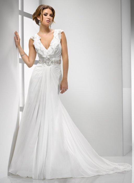 Свадебное платье для фигуры Прямоугольник