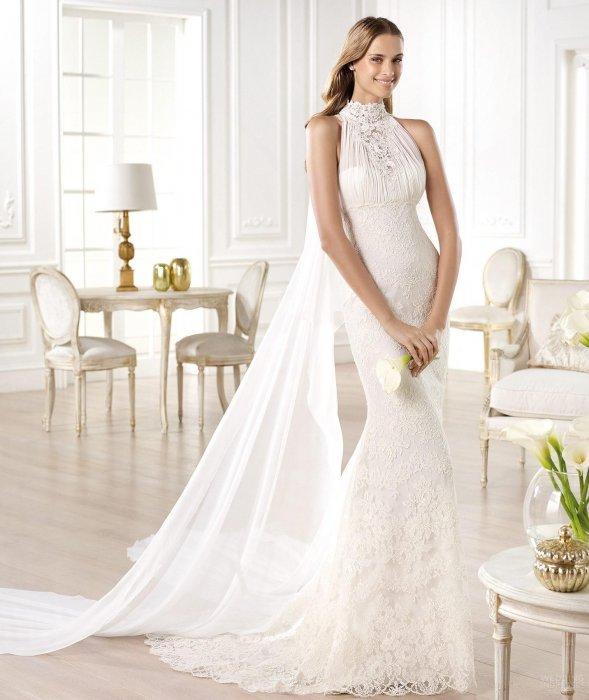 Свадебное платье для фигуры Треугольник