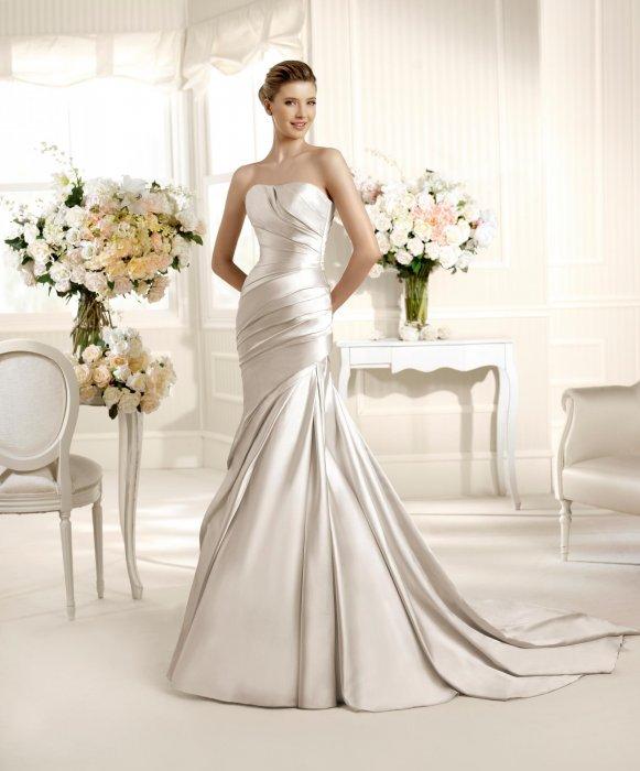 Материал свадебного платья