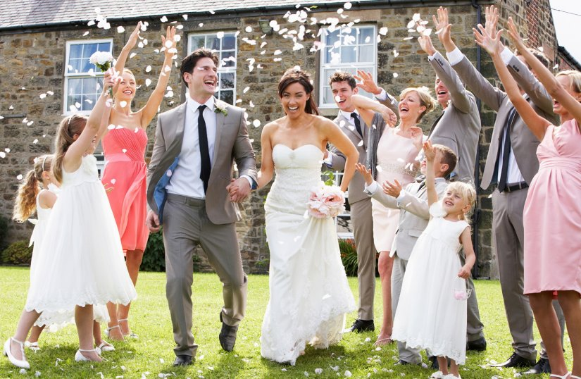 Новые родственники после свадьбы