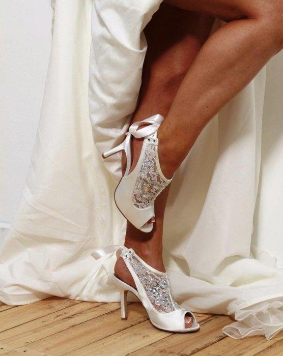 Идеальная свадебная обувь: какая она?